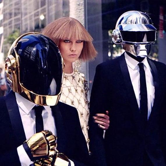 Daft Punk & Karlie Kloss in New York